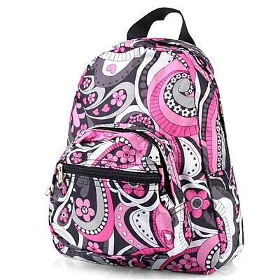 Zodaca Kids Small Travel Backpack Girls Boys Bookbag Shoulder Children's School Bag for Outside Activity - Purple