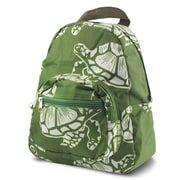 Zodaca Bright Stylish Kids Small Backpack Outdoor Shoulder School Zipper Bag Adjustable Strap - Turtle