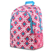 Zodaca Outdoor Camping Hiking Large Travel Sport Backpack Shoulder School Bag - Graphic Pink