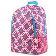 Zodaca Outdoor Camping Hiking Large Travel Sport Backpack Shoulder School Bag - Graphic Pink
