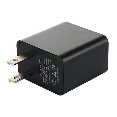 Insten Single USB Travel Wall AC Charger Adapter with Full 2A Output - Black