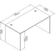 "Bush Business Furniture Studio C 60""W x 30""D Office Desk, Storm Gray (SCD260SG)"