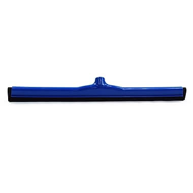 """Malish 24"""" Blue Hygienic Floor Squeegee (5724B)"""
