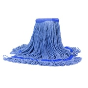 Malish 20 oz. Blue Looped-End Mop Head (53620)