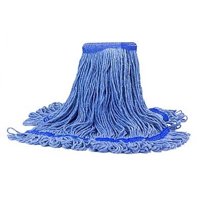 Malish 20 oz. Blue Looped-End Mop Head (53620)