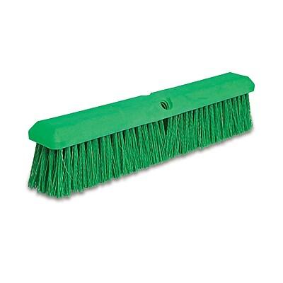 "Malish 24"" Green Poly Push Broom (37154)"