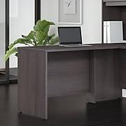 "Bush Business Furniture Studio C 42""W Desk Return, Storm Gray (SCR142SG)"