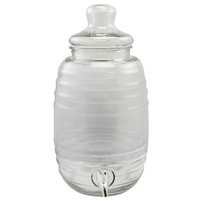 General Store Cottage Chic 2.5 Gallons Drink Dispenser Clear (116944.01)