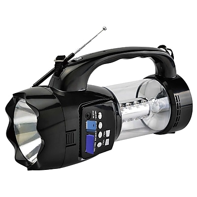 Quantum FX Emergency Flashlight/Lantern with FM Radio 10