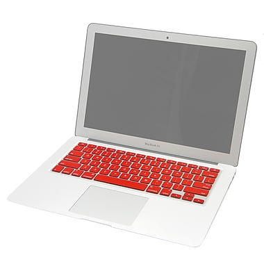 MGEAR MacBook 13.3 in. Keyboard Skin Red (MACBOOK-KEYBOARD-SKIN-13IN-RED)