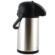 Mr Coffee Javamax Vacuum Sealed Double Wall Pump Pot 2.24-Quart  Satin Brushed (116948.01)