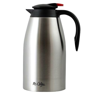 Mr Coffee Gallion Coffee Pot 2-Quart Stainless Steel Polished Finish (104358.02)
