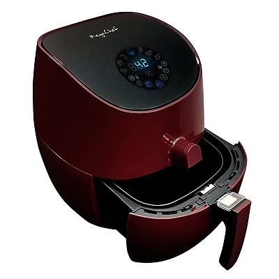 Megachef 3.5-Quart Airfryer And Multicooker Burgundy (MCAI-307)