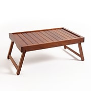 """Eco Friendly Home Bed Tray 21.85"""" by 13.98"""" Brown (92662.01)"""