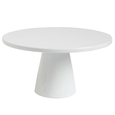 Gracious Dining 11 in. Pedestal Cake Stand White (116344.01)
