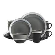 GIbson Color Eclipse 16-Piece Stoneware Dinnerware Set Grey 95851.16  sc 1 st  Staples & GIbson Color Eclipse 16-Piece Stoneware Dinnerware Set Grey 95851.16 ...