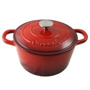 "Crock-Pot Artisan  Cast Iron  11.50"" x 10.80"" Self-Basting Dutch Oven Scarlet Red (69141.02)"