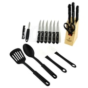 Gibson Total Kitchen 20-Piece Cutlery and Gadget Combo Set (99201.20)