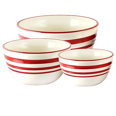 General Store Hollydale 3-Piece Nesting Bowl Set