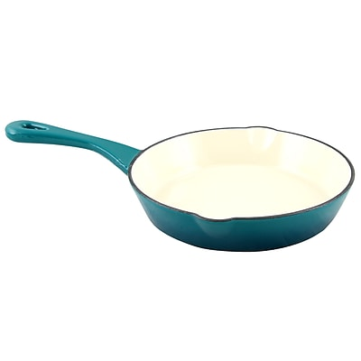 Crock-Pot Artisan Cast Iron 8 in. Skillet, Teal Ombre (111976.01)