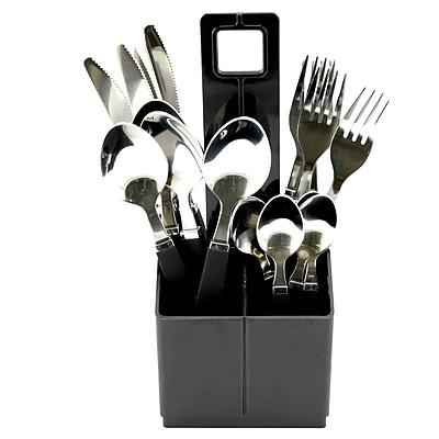 Gibson Home 109503.16 Altamara Stainless Steel 16-Piece Flatware Set