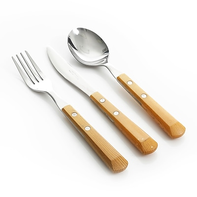 Gibson 109507.12 Springbrook Stainless Steel 12-Piece Flatware Set