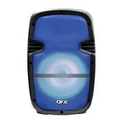"Quantum Fx PBX-61083-BLU 8"" Battery Powered Portable Party Speaker Blue"