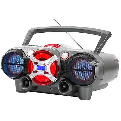 QFX J-50U Portable Bluetooth Jumbo Box Radio