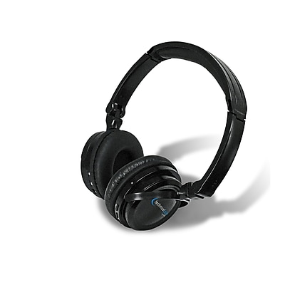 Technical Pro HP570BT Wireless Headphone with Bluetooth Compatibility Black