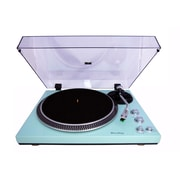 TechPlay 2 Speed Turntable with Built-in Phono Pre-amplifier Light Blue (TCP4530-TR)