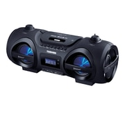 Toshiba TY-CWU500 Wireless Indoor Outdoor Bluetooth CD Player Boombox + Remote, Disco LED Lights