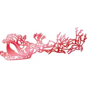 """Artdeco Creations Santa's Sleigh Couture Creations Let Every Day Be Christmas Hotfoil Stamp, 3.5"""" x 1.3"""" (CO725532)"""