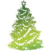 "Artdeco Creations Christmas Tree Ultimate Crafts Look Like Christmas Hotfoil Stamp, 2.7"" x 1.9"" (UL158334)"