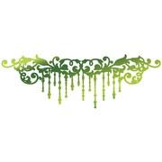 "Artdeco Creations Christmas Flourish Ultimate Crafts Look Like Christmas Hotfoil Stamp, 4"" x 1.3"" (UL158339)"