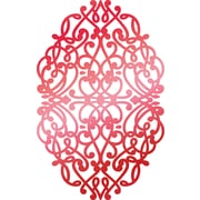 """Artdeco Creations Christmas Background Couture Creations Let Every Day Be Christmas Hotfoil Stamp, 2.5"""" x 1.6"""" (CO725530)"""
