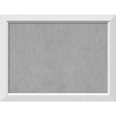 Amanti Art Framed Magnetic Board Large Blanco White 32