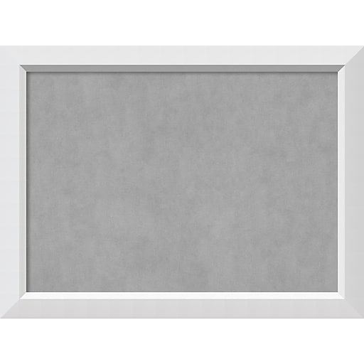 Amanti Art Framed Magnetic Board Large Blanco White 32 X 24 Frame