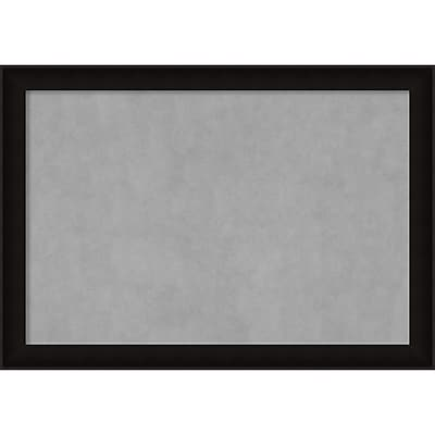 Amanti Art Framed Magnetic Board Extra Large Manteaux Black 40