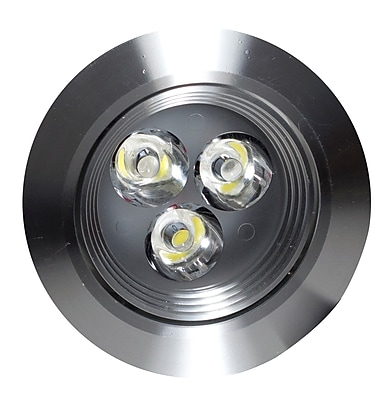 """""""""""American Imaginations 3.5""""""""""""""""W Round Brass-LED Recessed Pot Light in Brushed Nickel Color Brushed Nickel 1 (AI-587)"""""""""""" 24268254"""