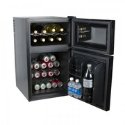 Kalorik 2-in-1 Mini-Fridge and Wine Cooler  Black (WCL 42513 BK)