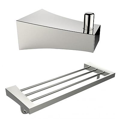 American Imaginations Multi-Rod Towel Rack and Robe Hook (AI-13294)