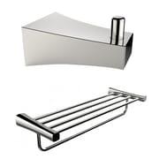 American Imaginations Multi-Rod Towel Rack and Robe Hook  (AI-13292)