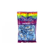 Delectais Milk Chocolate Thins Blue, 14.1 oz., 2 Pack (90130)