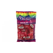 Delectais Milk Chocolate Thins Red, 14.1 oz., 2 Pack (90124)