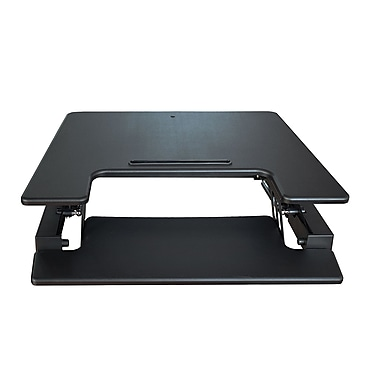 SuperDesk 29 in. Adjustable Standing Desk, Black (4939495)