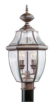 Livex Lighting 2-Light Outdoor Imperial Bronze Post Lantern (2254-58)