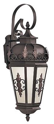 Livex Lighting 1-Light Wall Bronze Outdoor Wall Lantern (2193-07)