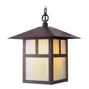 Livex Lighting 1-Light Bronze Outdoor Pendant (2141-07)