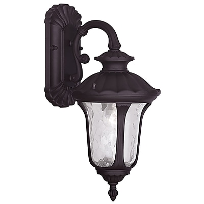 Livex Lighting 1-Light Bronze Outdoor Wall Lantern-Light (7851-07)