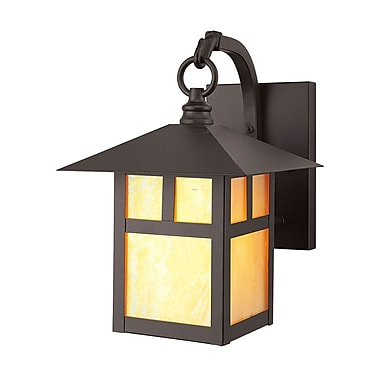 Livex Lighting 1-Light Bronze Outdoor Wall Lantern (2131-07)